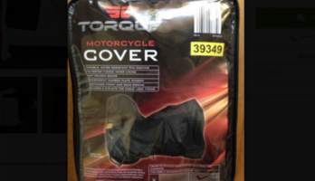 Motorbike jacket and pants & bike cover