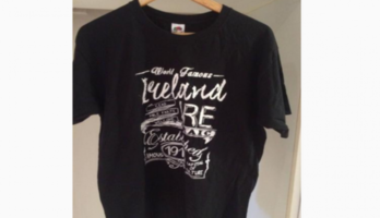 T-Shirt From Ireland – Never Worn – Size L