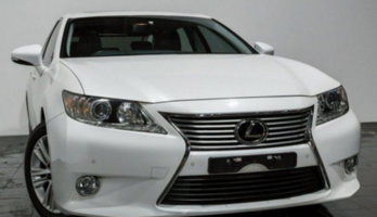 2014 Lexus ES350 GSV60R Luxury White 6 Speed Sports Automatic Sedan