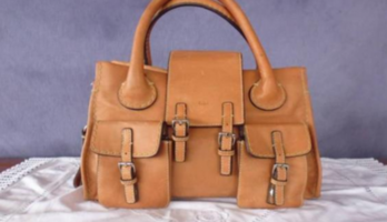 Authentic ChloE Edith Satchel Bag, Leather