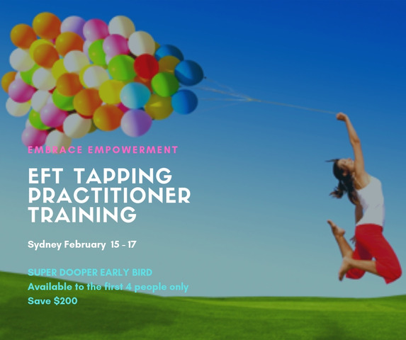EFT Tapping Practitioner Training - Super Early Bird Offer