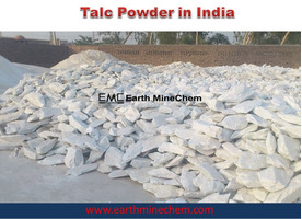 Talc Powder in India Earth MineChem Exporter Manufacturer