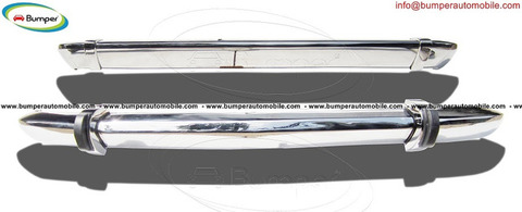 BMW 2002 bumper (1968-1971) in stainless steel