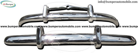 Volvo PV 444 bumper (1947-1958) in stainless steel
