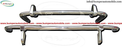Jaguar XJ6 Series 2 bumper set (1973-1979)