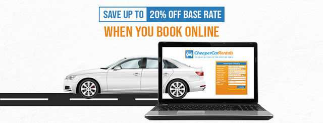 Save up to 20% off Base Rate When You Book Online