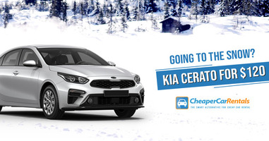 Going to the Snow? Kia Cerato for $120