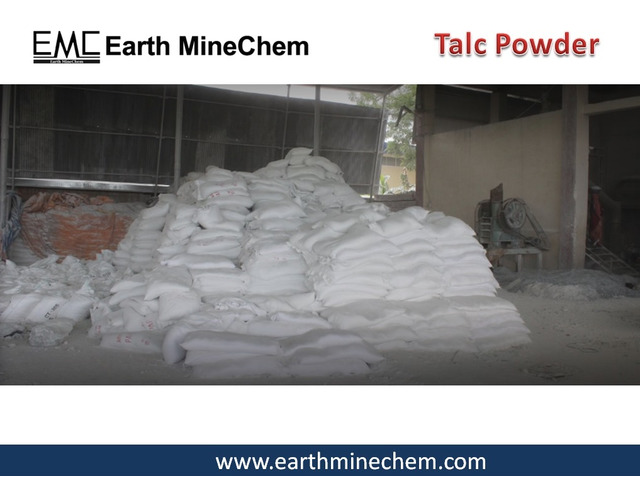 Talc Powder in India Manufacturer of Talc Earth MineChem