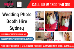 Customised Wedding Photo Booth Hire in Sydney | Call 1300 140 310