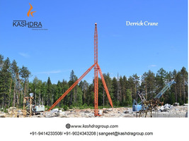 Derrick Crane Manufacturer in India Kashdra Group