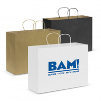 Custom Carry Bags and Personalised Paper Bags in Perth, Australia - Mad Dog Promotions