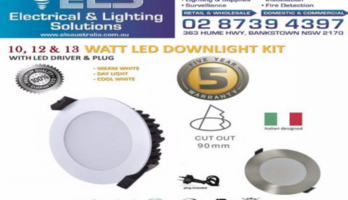 Wholesale 10W 12W 13W LED Dimmable Downlight Kit 90mm 70mm Cutout