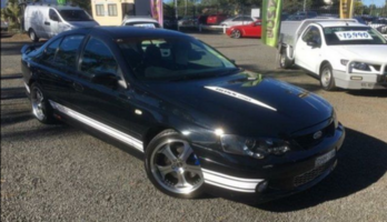 2003 Ford Falcon BA XR8 Black 5 Speed Manual Sedan