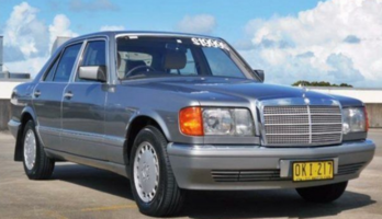 1987 Mercedes-Benz 300SE W126 Grey 4 Speed Automatic Sedan