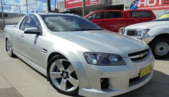 2008 Holden Ute VE SS V Silver Auto Sports Mode Utility