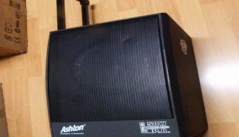 TRANSPORTA LITE Power amplifier speaker ASHTON WPA50 50W