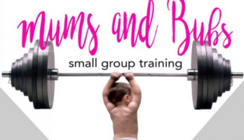 Mums and Bubs . small group training