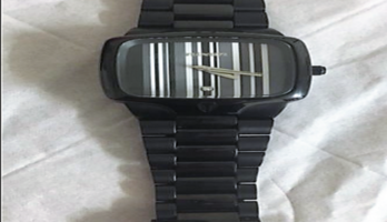 Men's Nixon watch player black