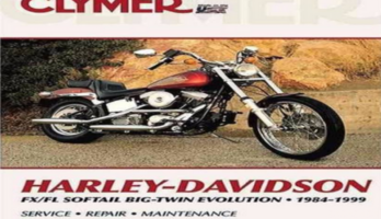 Harley-Davidson FLS/FXS Softail Big Twin Evolution 1984 – 1999