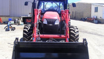 NEW DEMO YTO X1254 125HP TRACTOR CAB, LOADER, 4-IN-1 BUCKET