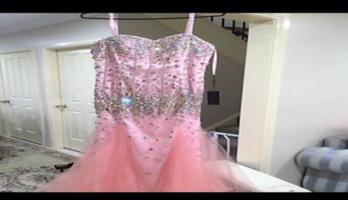Brand new never worn beautiful bling formal dress