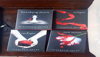 Twilight series by Stephanie Meyer