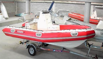 Gladiator 5.5m Fisher Sport RIB Rigid hull inflatable boat