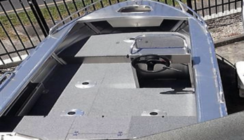 New Horizon 415 Easyfisher Pro side console aluminium boat