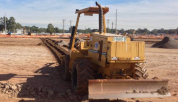 Vermeer 8550A 100hp Chain Trencher