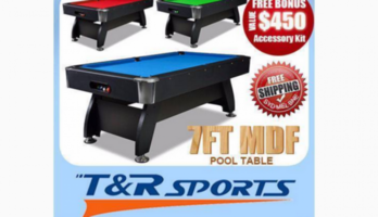 NEW! 7/8FT MODERN DESIGN POOL TABLE; FREE METRO DELIVERY