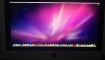 21.5inch iMac Apple desktop