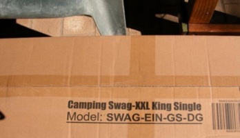 Domed Camping Swag XXL King Single