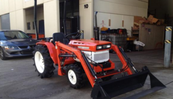 Kubota 20 hp tractor with 4 in 1 loader