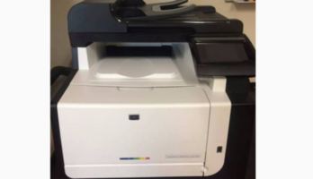 HP LaserJet Pro All In One Laser Printer + 2nd Ink Cartridge