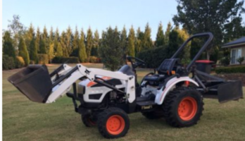 Bobcat front end loader tractor 4wd
