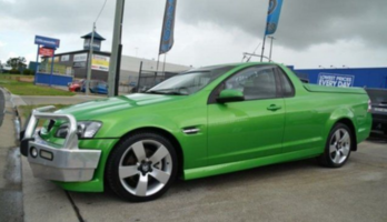 2007 Holden Commodore VE SS-V Green 6 Speed Manual Utility