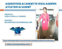 Airhostess Academy in India Airwing Aviation Academy
