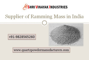 Leading Supplier of Ramming Mass in India UAE Shri Vinayak Industries