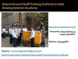 Airport Ground Staff Training Institute in India AAA